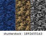 seamless desert camouflage... | Shutterstock .eps vector #1892655163
