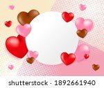 high quality love background... | Shutterstock .eps vector #1892661940