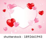 high quality love background... | Shutterstock .eps vector #1892661943