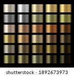 gradients vector metallic gold  ... | Shutterstock .eps vector #1892673973