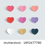 Love Heart Shapes Paper...