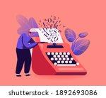 narration hobby  creativity... | Shutterstock .eps vector #1892693086