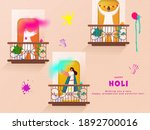 illustration of indian people... | Shutterstock .eps vector #1892700016