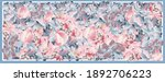 delicate colors of silk scarf... | Shutterstock .eps vector #1892706223