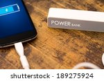 phone charging with energy bank.... | Shutterstock . vector #189275924
