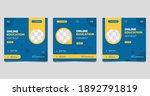 set of minimalist background...   Shutterstock .eps vector #1892791819