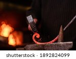 Blacksmithing. The Blacksmith...