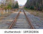 Train Tracks Leading To The...