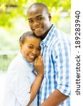 beautiful afro american couple...   Shutterstock . vector #189283940