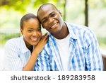 close up portrait of african...   Shutterstock . vector #189283958