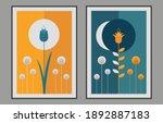 art prints  flowers design for... | Shutterstock .eps vector #1892887183