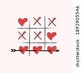 happy valentine's day ... | Shutterstock .eps vector #1892905546