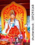 buddha in a temple  closeup of... | Shutterstock . vector #189293168