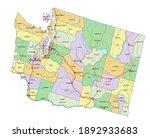 washington   highly detailed... | Shutterstock .eps vector #1892933683