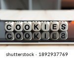 The Word Cookies Written With...