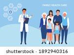 family doctor health care... | Shutterstock .eps vector #1892940316