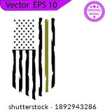 american flag  usa distressed... | Shutterstock .eps vector #1892943286