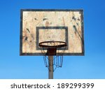 Basketball Hoop  Blue Sky