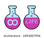 elixir of life   magical drink... | Shutterstock .eps vector #1893007996