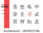 psychology concept   line... | Shutterstock .eps vector #1893022786
