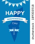 happy independence day of israel   Shutterstock .eps vector #189303518