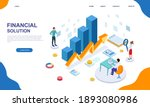 finance and business graph of...   Shutterstock .eps vector #1893080986
