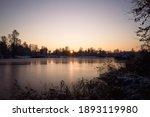 Winter Landscape At The Pond...
