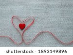 valentine's day background with ...   Shutterstock . vector #1893149896