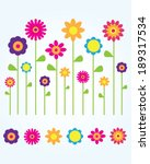 a collection of cute and fun... | Shutterstock .eps vector #189317534