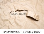 Uncovering A Good Luck. There...