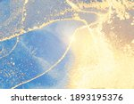 blue and gold stone marble...   Shutterstock .eps vector #1893195376