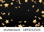 shiny gold confetti and pieces... | Shutterstock .eps vector #1893212533