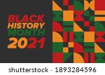 black history month. african... | Shutterstock .eps vector #1893284596