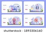 surgeon web banner or landing...   Shutterstock .eps vector #1893306160