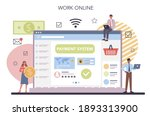 website payment system testing... | Shutterstock .eps vector #1893313900