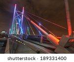 nelson mandela bridge at night. ... | Shutterstock . vector #189331400