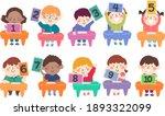 illustration of kids students...   Shutterstock .eps vector #1893322099