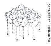 beautiful cloud in bohemian... | Shutterstock .eps vector #1893376780