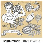 design set with handsome man...   Shutterstock .eps vector #1893412810
