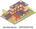 motel color concept with... | Shutterstock .eps vector #1893443746