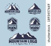 mountain theme logo....   Shutterstock .eps vector #1893457669