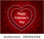 happy valentines day design in...   Shutterstock .eps vector #1893461566