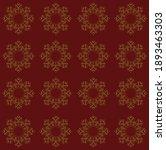 Pattern Design Of Floral Line...