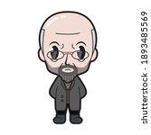 vector caricature illustration...   Shutterstock .eps vector #1893485569