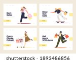 sales and shopping concept of... | Shutterstock .eps vector #1893486856