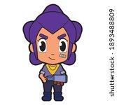 superhero vector fanart of... | Shutterstock .eps vector #1893488809