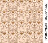 art deco pink seamless pattern... | Shutterstock .eps vector #1893544339