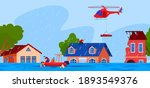 natural disaster  accident ... | Shutterstock .eps vector #1893549376