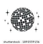 disco ball. vector icon. disco... | Shutterstock .eps vector #1893559156