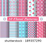 set of vector patterns | Shutterstock .eps vector #189357290